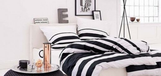 Sơn nội thất với sắc màu đen trắng tinh tế