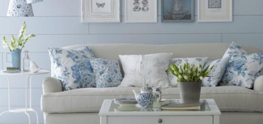 Sơn nhà với cặp đôi trắng – xanh dương trang nhã