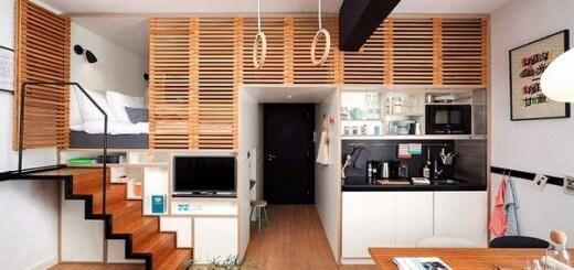 Sửa nhà căn hộ nhỏ tiện nghi hiện đại