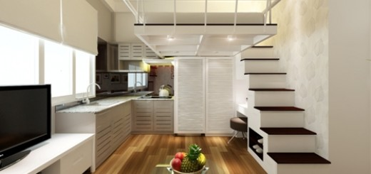 Sửa nhà thiết kế phòng ăn cho căn hộ chung cư nhỏ
