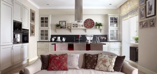 Cải tạo căn hộ theo phong cách hiện đại lãng mạn