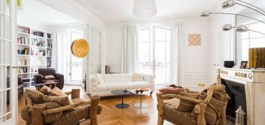 Cải tạo căn hộ phong cách pháp kết hợp nét châu phi