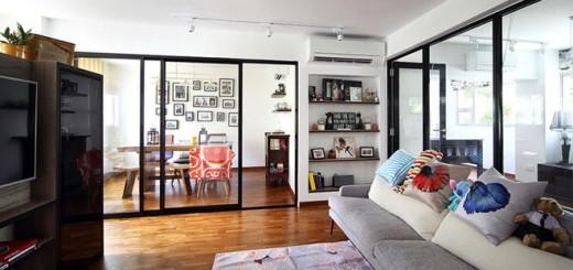 Cải tạo căn hộ theo phong cách mộc sáng thoáng