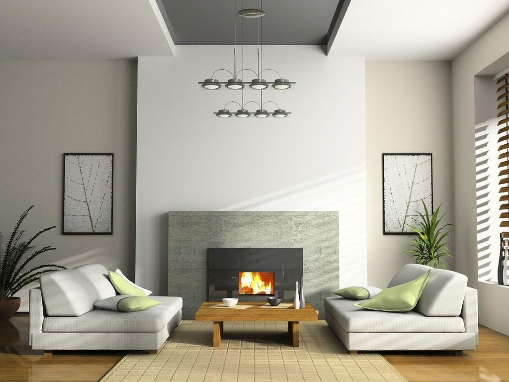 Màu xám là một trong những mẫu sơn phòng khách đẹp, mang lại cảm giác nhã nhặn và hiện đại.