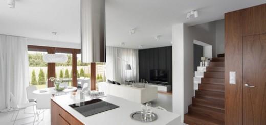 Thiết kế nhà theo phong khách tối giản đầy sang trọng