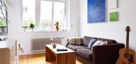 Sửa căn hộ gọn gàng đẹp đẽ cho người độc thân