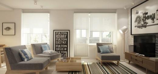 Thiết kế căn hộ 38m2 tiện nghi đáng mơ ước