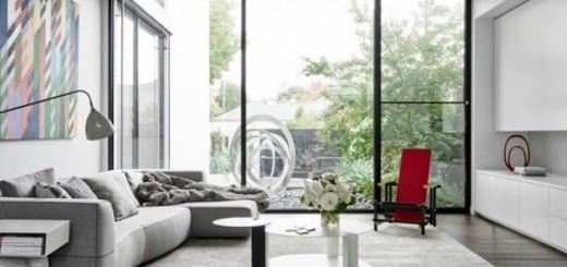 Thiết kế nhà đẹp với nội thất tối giản tuyệt đẹp