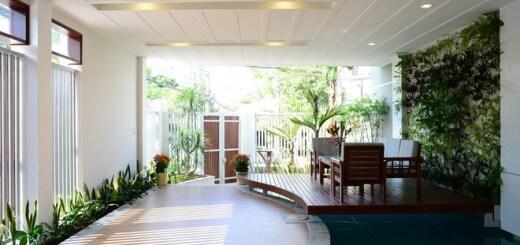 Thiết kế nhà đẹp với nhiều không gian xanh