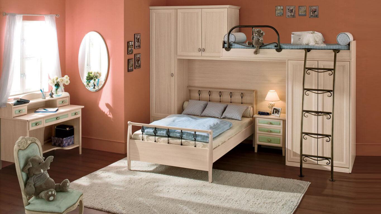 Sửa phòng ngủ cho con gái với tông mầu hồng chủ đạo