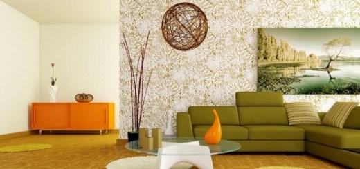 Thiết kế căn hộ phong cách tối giản cho phòng khách, tạo không gian rộng rãi hơn trong căn hộ chung cư diện tích nhỏ.