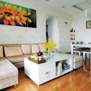 Mẹo thiết kế căn hộ với không gian hành lang dọc theo các phòng ngủ.