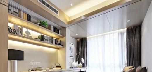 Phòng ngủ master tràn ngập ánh sáng, không gian và cách thiết kế nội thất nhà nhỏ, mạch lạc, ngăn nắp.