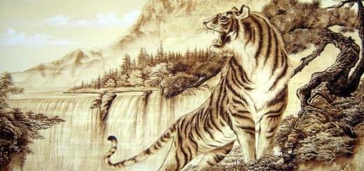 Màu sắc sơn nhà và trang trí một bức tranh hổ ở hướng Đông Đông Bắc sẽ may đến sự may mắn về tình duyên cho người tuổi Dần.