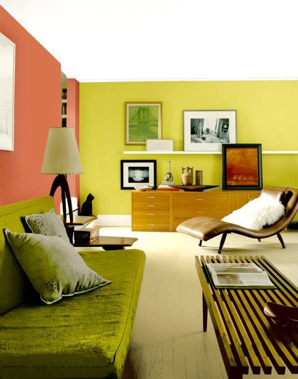 Màu sắc sơn nhà với người tuổi Dần nên dùng màu bản mệnh là xanh lá cây và màu gỗ để trang trí nhà.