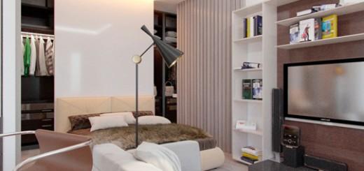 Sửa căn hộ, thiết kế nội thất theo phong cách Bắc Âu với các tông màu trung tính.