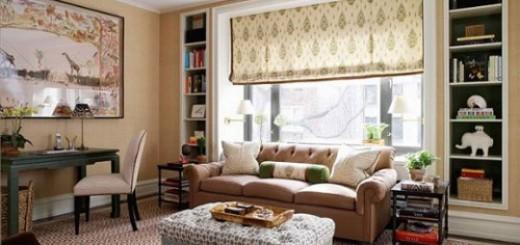Nội thất phòng khách nhà chung cư hạng trung được đánh giá là lý tưởng để thiết kế và bố trí nội thất.