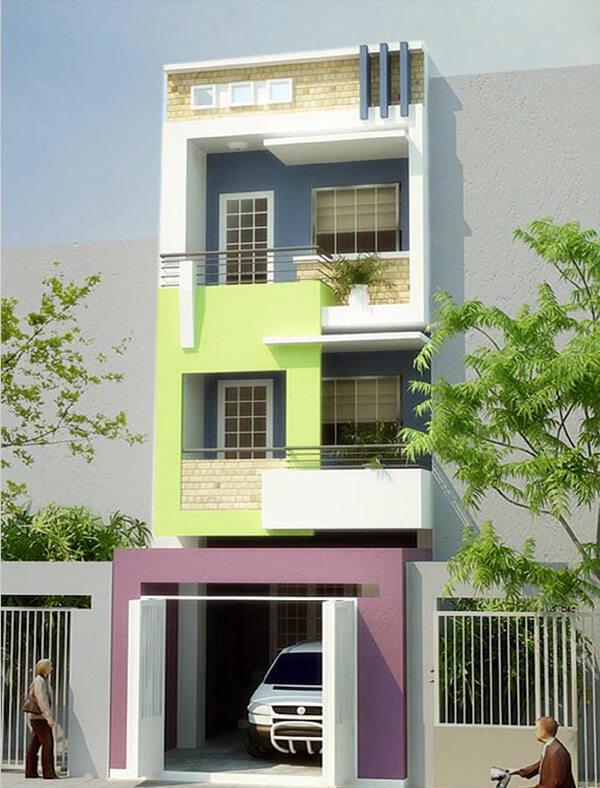 Mẫu sơn nhà đẹp, tinh tế và lạ mắt mang lại sự mới mẻ và khác lạ cho ngôi nhà hiện đại của bạn.