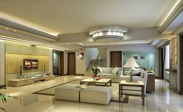 Sơn nhà màu kem đẹp, phòng khách theo phong cách tân cổ điển với gam màu nhã nhặn mang lại vẻ đẹp sang trọng và thanh lịch.