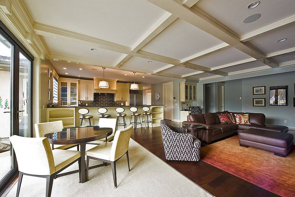 Cho phép bạn chọn màu sắc sơn nhà tương tự, phối hợp các màu sắc chuyển đổi các không gian một cách ấn tượng và hài hòa.