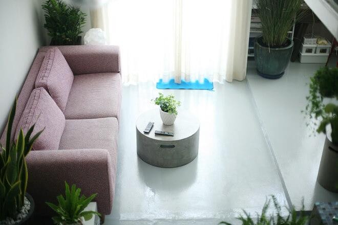 Mẫu căn hộ đẹp, nhiều người phải trầm trồ vì không thể tin 45m2 nhà chung cư có thể cải tạo đẹp đến như vậy.
