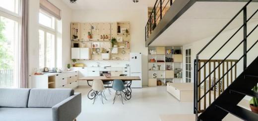 Mẹo cải tạo căn hộ với tầng lửng đẹp hút hồn