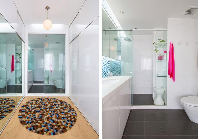 Phòng tắm lớn được sử dụng những dụng cụ hiện đại có tính tiện nghi cao