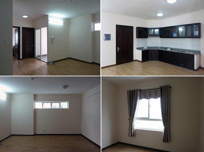 Sửa căn hộ rộng 75 m2 cho cặp vợ chồng mới cưới