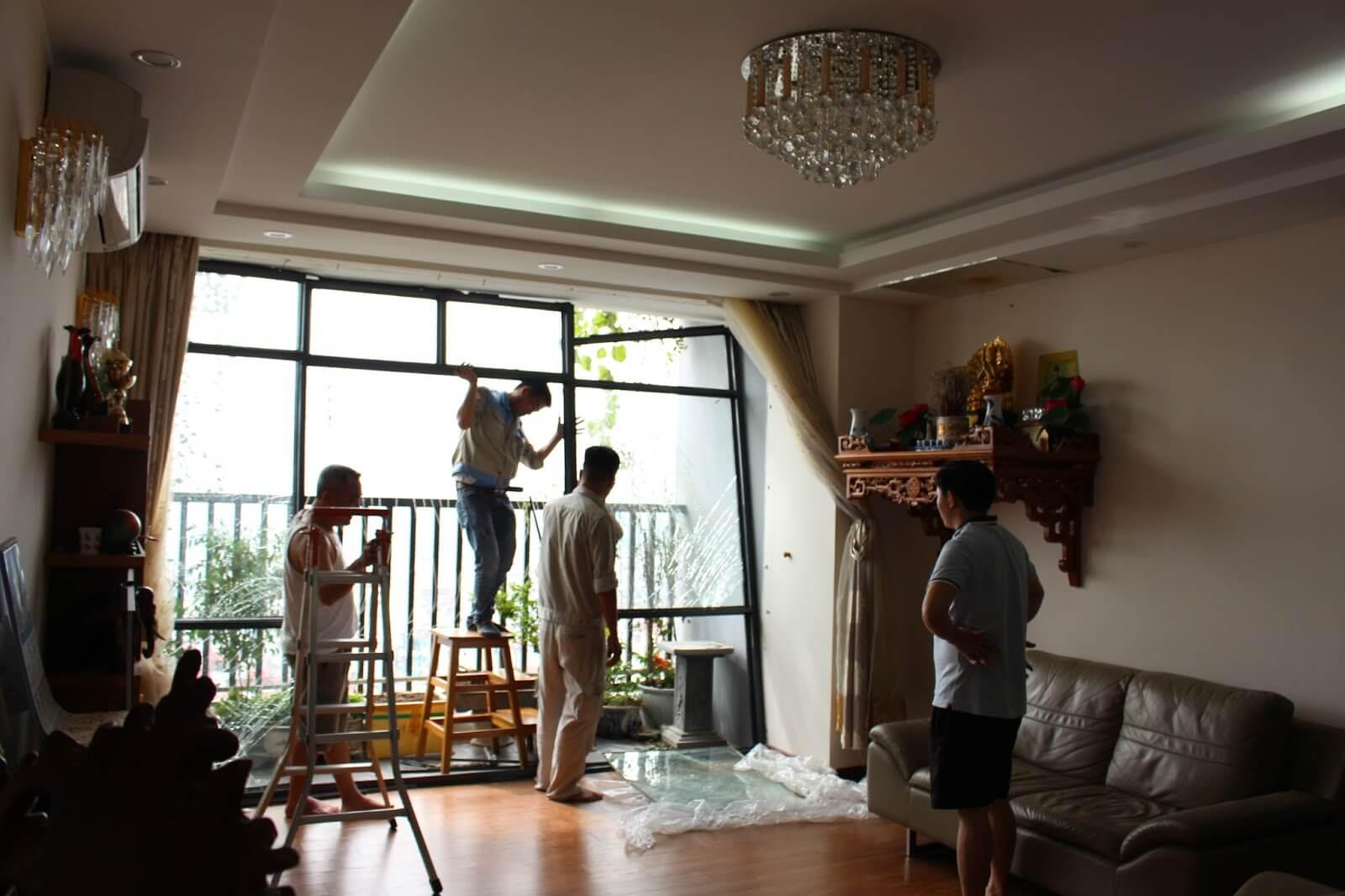 Sửa chữa nhà đẹp tăng diện tích