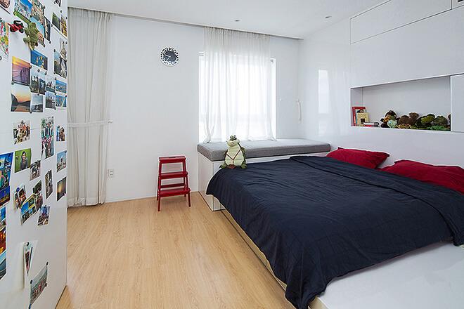Thiết kế phòng ngủ tiện nghi hiện đại