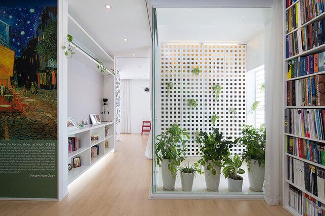 Thiết kế sân vườn nhỏ tạo cảm giác căn hộ thân thiện thiên nhiên