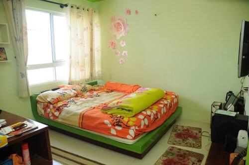 Phòng ngủ khá nhí nhảnh