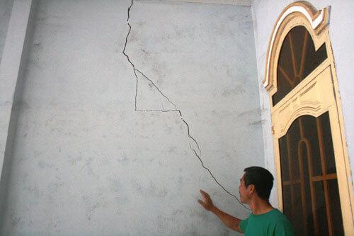 Cách sửa chữa nhà bị nứt và thấm nước