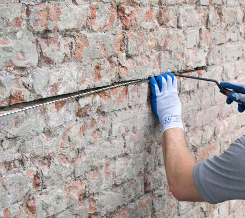 Cách thi công sửa chữa nhà bị nứt tường hiệu quả