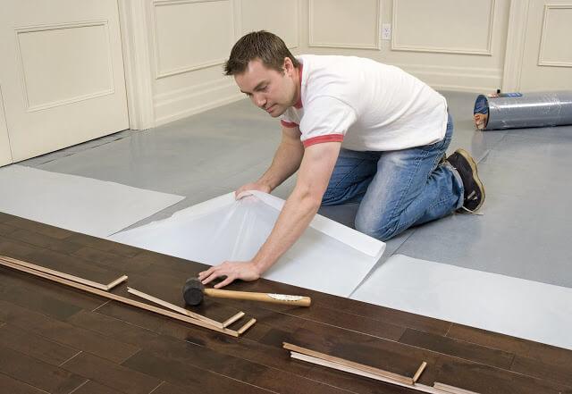 quy trình thi công ,lắp đặp sàn gỗ tiên tiến và chuyên nghiệp