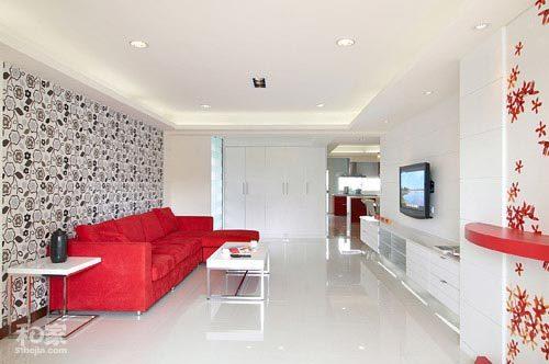 Những lợi ích của sơn tường nhà màu trắng-Làm nền cho nội thất