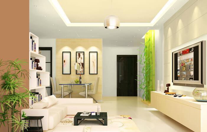 Bạn nên sơn nhà màu sáng điều này sẽ làm căn nhà trở nên sáng sửa và rộng rãi hơn
