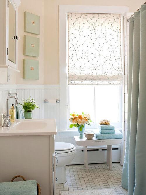 thay đổi nhỏ sẽ giúp phòng tắm nhà bạn mới mẻ hơn