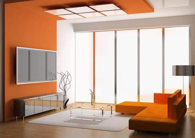 Sửa chữa nhà bằng cách liên kết tốt hơn giữa trần nhà và sơn tường