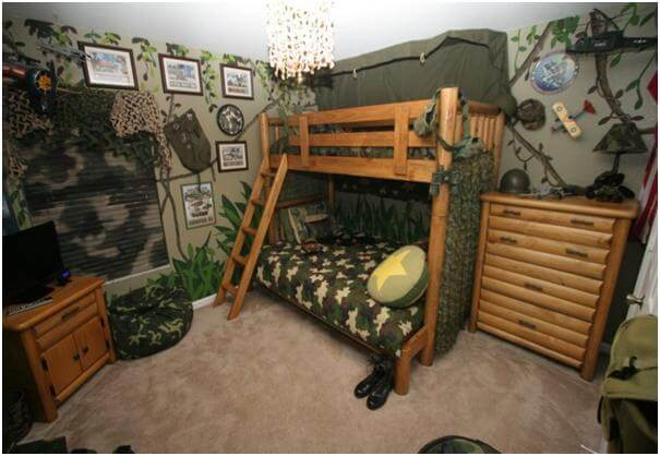 phòng ngủ đẹp cho bé thích tìm tòi sáng tạo