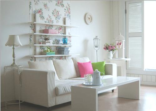 ửa phòng khách đẹp đầy đủ tiện nghi - Không gian sinh hoạt, vui chơi và giải trí chung của cả gia đình cần rộng rãi và thoải mái