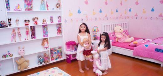 Bí quyết thiết kế nhà và trang trí phòng cho trẻ nhỏ