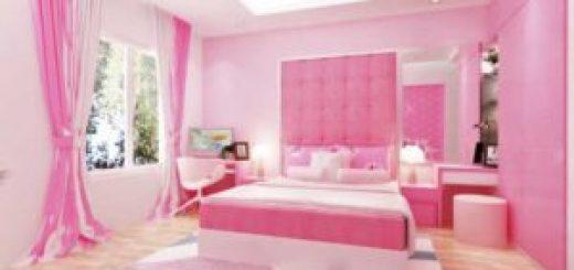 Sắc hồng sẽ làm cho không gian phòng ngủ của bạn vô cùng dịu dàng và tinh tế