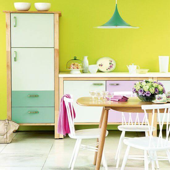 4 cách phối màu sơn nhà đẹp cho gian bếp của bạn