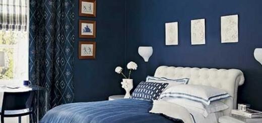 màu sơn nhà đẹp- mau xanh dương