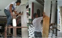 Quy trình dịch vụ sơn giả đá