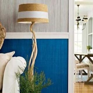 sơn nhà đẹp hiệu ứng thớ vải