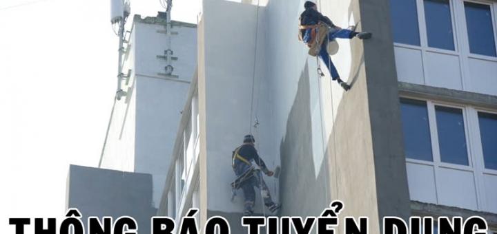 Thông báo tuyển dụng thợ sơn nhà tại Hà Nội
