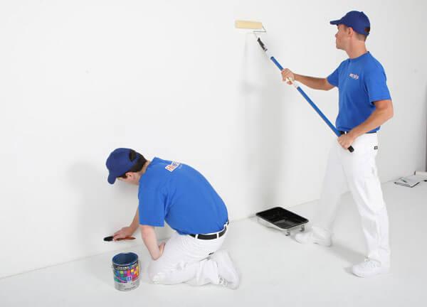 Tính giá sơn nhà trọn gói vật tư và nhân công cho mỗi mét vuông sơn hoàn thiện