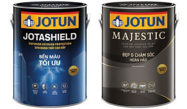 sơn Jotashield với tinh năng che phủ vết nứt tối ưu
